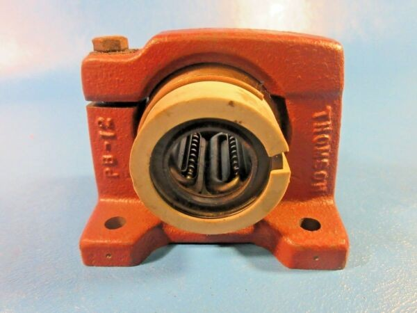 Thomson PB12, PB-12 Precision Steel Ball Bushing Bearing Pillow Block (THK)