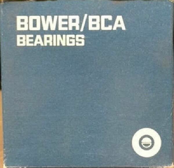 BOWER 25583 TAPERED ROLLER BEARING