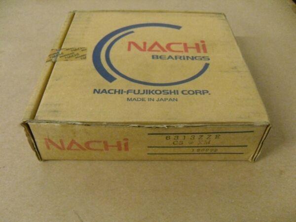 NACHI 6313ZZ E DEEP GROOVE BALL BEARING 65X140X13