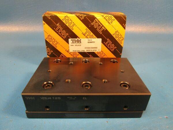 THK VRU4125, VRU-4125 Cross Roller Guide SET, Linear Motion Bearing (Nippon,IKO)