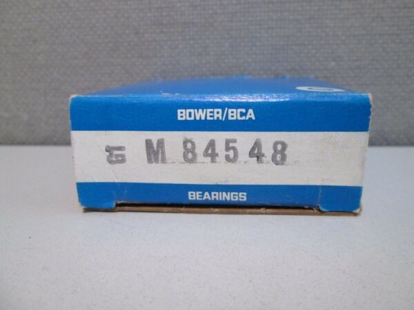 M84548 BOWER TAPERED ROLLER BEARING