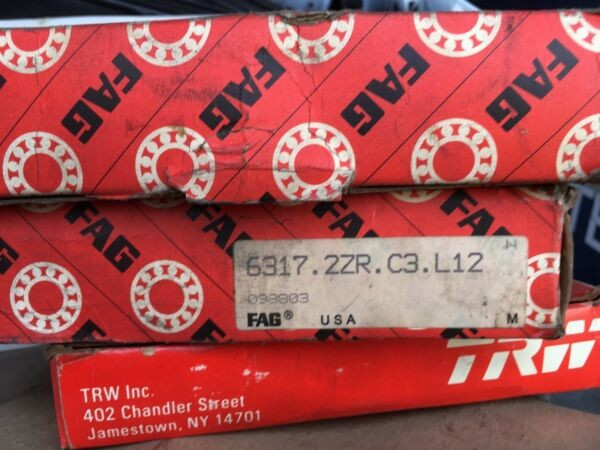 FAG Bearing 6317.2zr C3 L12