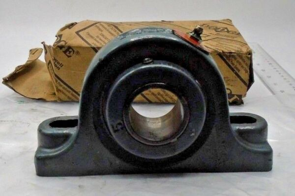 DODGE P2B-UN2-107 UNISPHERE II PILLOW BLOCK BEARING 1-7/16