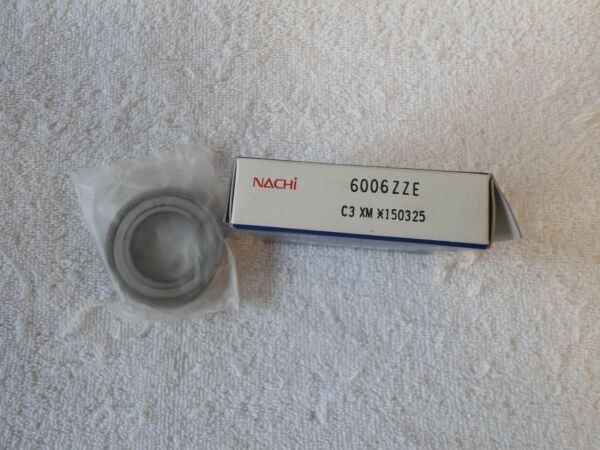 NIB NACHI Bearing  6006ZZE C3