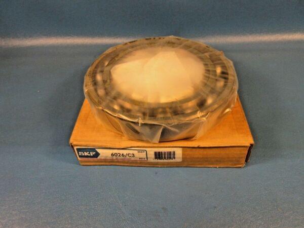 SKF 6026/C3 Deep Groove Ball Bearing (Koyo, Fag, RBC) Made in France