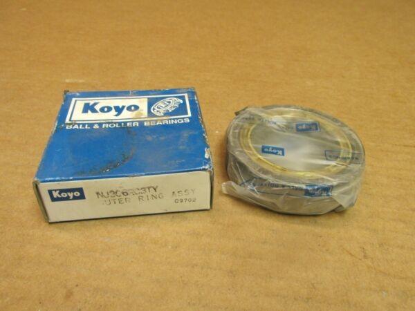 KOYO NU306RC3 CYLINDRICAL ROLLER BEARING NU 306 R C3 TY 72mm OD 19mm W JAPAN