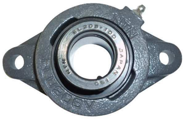 NTN UELFLU-1M Flange Bearing,2-Bolt,Ball,1