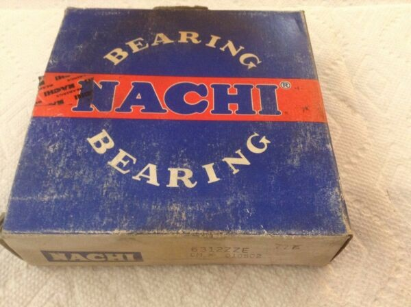 Nachi 6312 ZZE Bearing