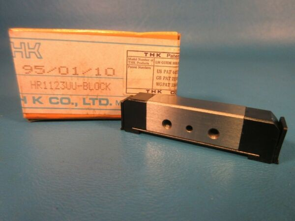 THK HR1123UU Block, Linear Guide Bearing, HR1123 UU (IKO, NB, NIppon)