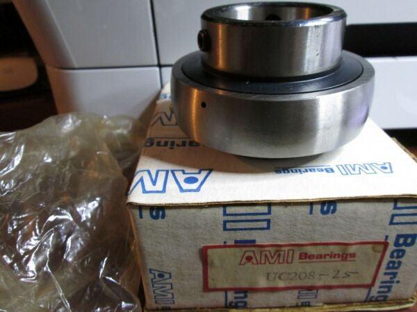 AMI ASAHI UC208-25 Wide Inner Ring Bearing Set Screw Locking