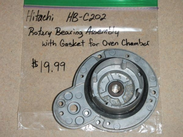 Hitachi Bread Machine Rotary Bearing Assembly W/ Gasket For Oven Chamber HB-C202