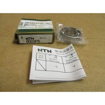 NIB NTN 6003P5 SUPER PRECISION BEARING OPEN 6003 P5 17x35x10 mm JAPAN