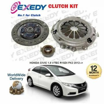FOR HONDA CIVIC 1.8 VTEC 2012 >NEW EXEDY CLUTCH KIT COVER PLATE BEARING SET