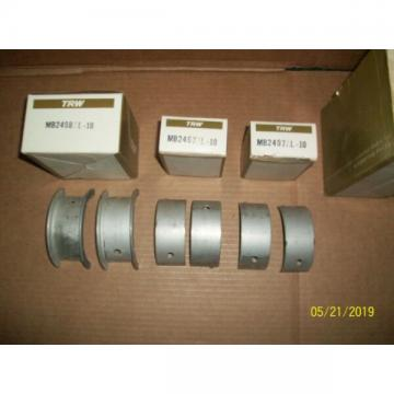 NORS TRW Main Bearing Set For Allis Chalmers G138 or G149 Engine MS2902AL-10