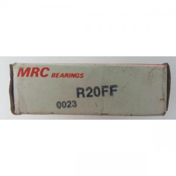 MRC TRW R20FF Ball Bearing Radial Deep Groove Single Row R20 FF NOS