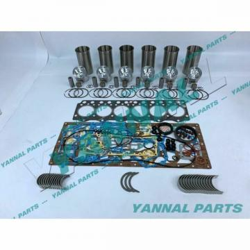 New 6D95-5 Engine Overhaul Kit With Gasket Bearing For Komatsu PC200-5 Excavator