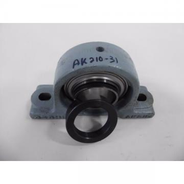 "ASAHI AK210-31 Two Bolt Pillow Block with 1 15/16"" FG210-31 Bearing"