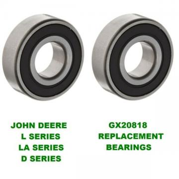 2 John Deere Mower Deck Spindle Bearings L100, L120,130, LA145, LA155 GX20818