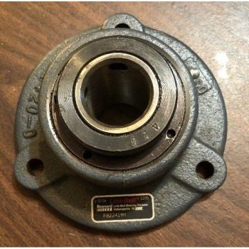 Link Belt FB22419H Flange 4 Bolt Sealed Bearing 1-3/16 Bore