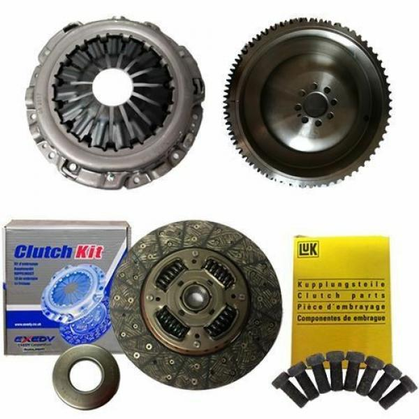 EXEDY CLUTCH PLATE AND BEARING,COVER,FLYWHEEL,LUK BOLTS FOR NP300 NAVARA 2.5 DCI #1 image