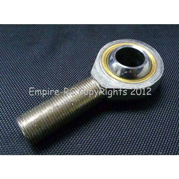 (1 PCS) POSAL25 (SAL25T/K) 25mm Male Metric LEFT Threaded Rod End Joint Bearing #1 image