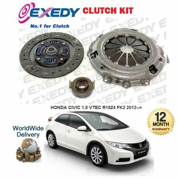 FOR HONDA CIVIC 1.8 VTEC 2012 >NEW EXEDY CLUTCH KIT COVER PLATE BEARING SET #1 image