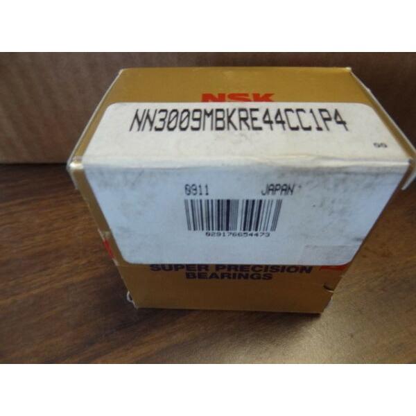 NSK NN3009MB KRE44 CC1 P4 Cylindrical Roller Bearing  #1 image