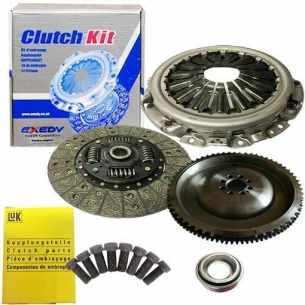 FLYWHEEL,EXEDY CLUTCH,A PLATE AND BEARING AND LUK BOLTS FOR NAVARA PICKUP 2.5DCI #1 image