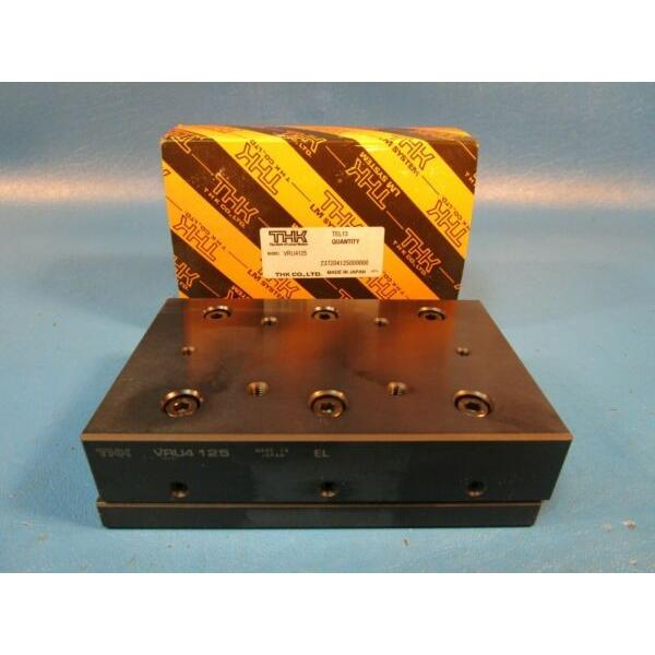 THK VRU4125, VRU-4125 Cross Roller Guide SET, Linear Motion Bearing (Nippon,IKO) #1 image
