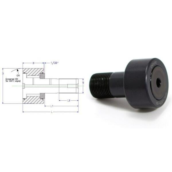 Enduro CFH 2.5 SB cam follower bearing RBC H80LW heavy stud HD  McGill CFH212SB #1 image