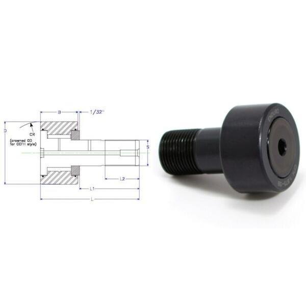 Enduro CFH 2.5 SB cam follower bearing RBC H80LW heavy stud HD  McGill CFH212SB #1 image