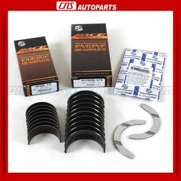 ACL Race Main Rod Performance Engine Bearings 1997-01 Honda Prelude 2.2L H22A4 #1 image