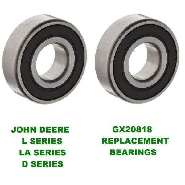 2 John Deere Mower Deck Spindle Bearings L100, L120,130, LA145, LA155 GX20818  #1 image