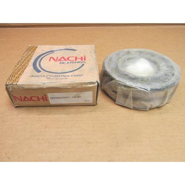 NIB NACHI 22318AEXW33C3 SPHERICAL ROLLER BEARING 22318 AEX W33 C3 90x190x64 mm #1 image