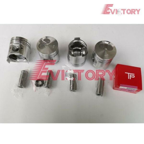 Komatsu 4D94LE Piston+piston ring engine compelete gasket kit bearing kit  #1 image