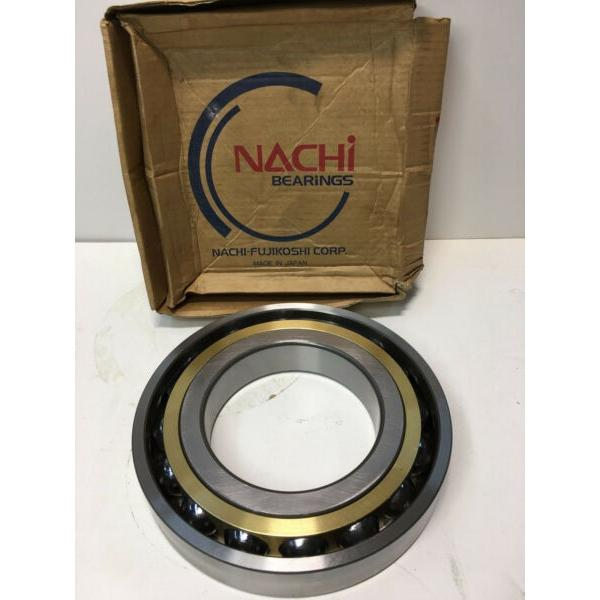 7228BMU Nachi Angular Contact Bearing Brass Cage C3 Japan 140x250x42  #1 image