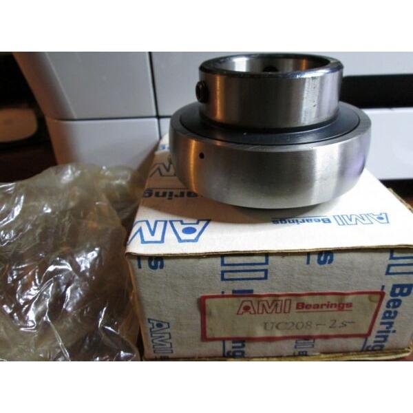 AMI ASAHI UC208-25 Wide Inner Ring Bearing Set Screw Locking #1 image