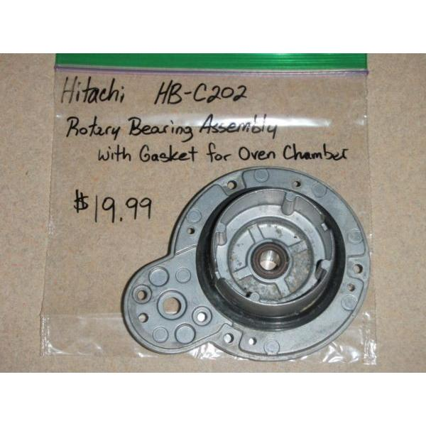 Hitachi Bread Machine Rotary Bearing Assembly W/ Gasket For Oven Chamber HB-C202 #1 image