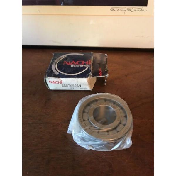 New Sealed NACHI 25RTK59SN C3 Roller Bearing In Box Made In Japan #1 image